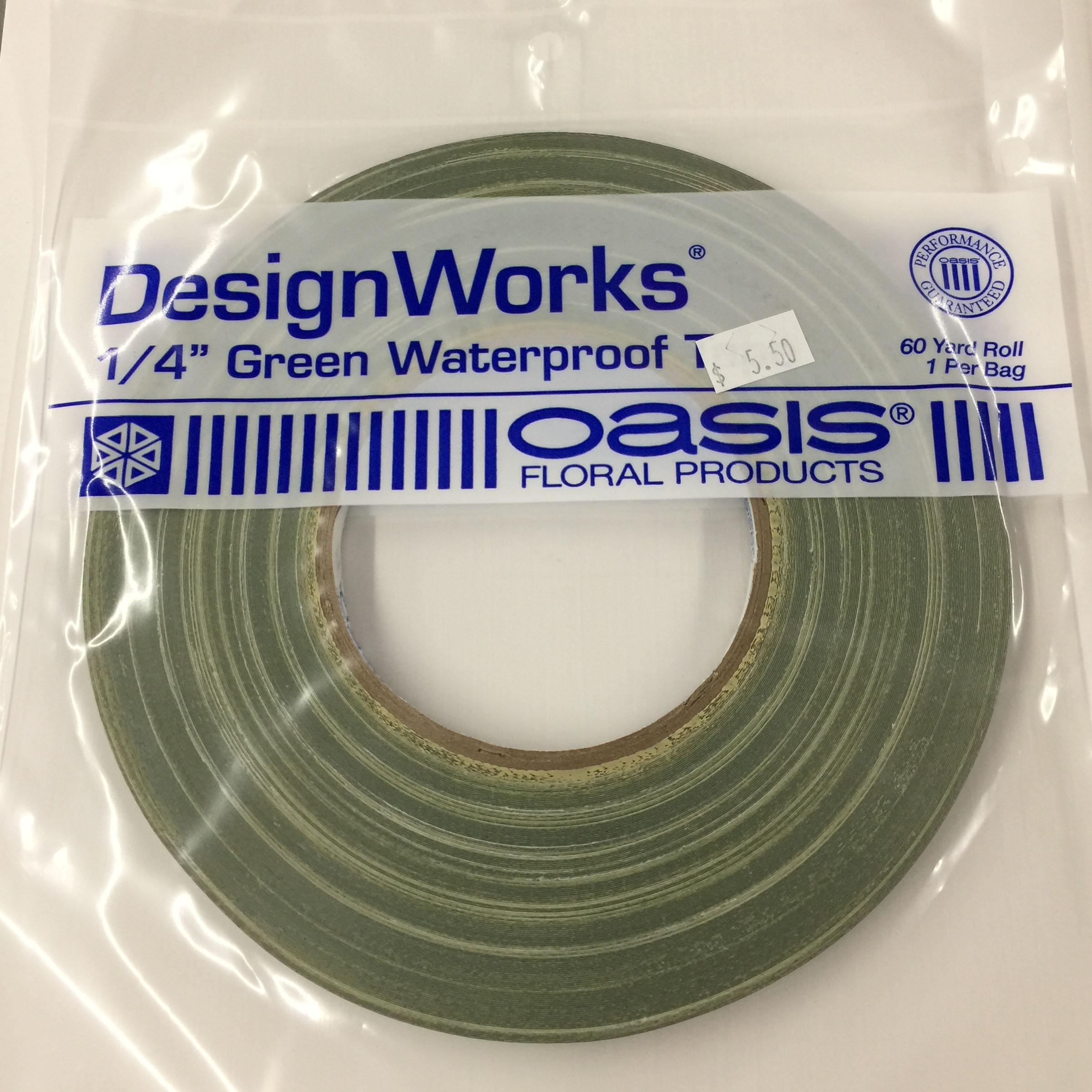 Tape 1/4″ Green Waterproof | Koehler & Dramm
