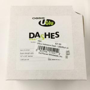 UGLU Adhesive Dash 1,000/Roll