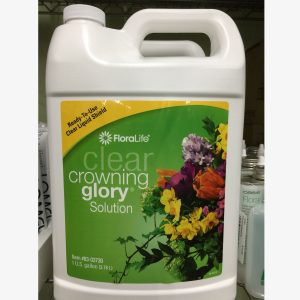 Crowning Glory Clear 1 Gallon